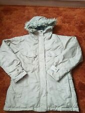 COLUMBIA women parka jacket,light green,size-XL