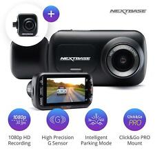 Nextbase 222x Front Dash Cam and Rear Camera Bundle Night Vision