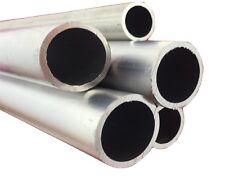 Aluminium Round Tube Pipe Various Sizes 25mm 30mm 40mm 50mm 60mm 80mm 100mm ....