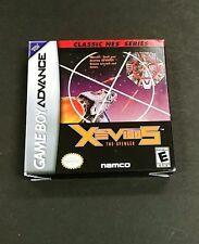 Xevious Classic NES Series (Nintendo Game Boy Advance, 2004)  BOX ONLY