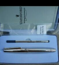 Waterford Writing Instruments Lismore Silver Plated Rollerball Pen w/Box