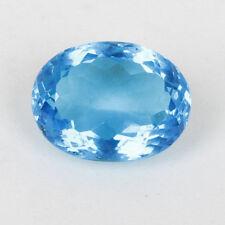 VVS 5 Stück 12mm Natürlich Blauer Topas AAA Qualität Rund Damebrett Schnitt Gems