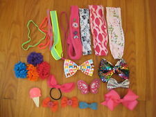 Huge lot BARRETTES HEADBANDS Hanna Andersson Gymboree Under Armour American Girl