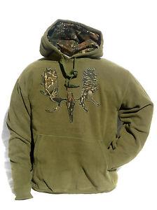 Cabela's Men's Signature Big Game Moose 360 GM Heavyweight Fleece Hunting Hoodie