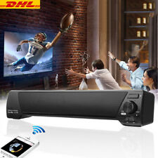 DHL| Bluetooth TV Lautsprecher Soundbar Musik Box Funk Wireless Stereo AUX USB