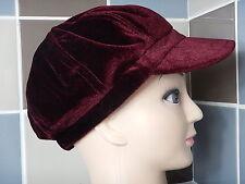 Vintage Womens Velvet Soft Touch Hat Medium Large