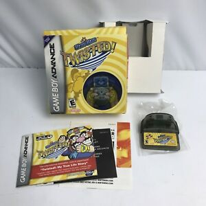 WARIO WARE TWISTED (Nintendo Game Boy Advance GBA) CIB COMPLETE Tested Working