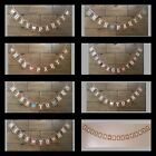 Vintage Hen Party Bunting Banner Garland Bride To Be Decoration Personalised