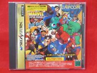Marvel Super Heraes VS street fighter SEGA Saturn SS JP