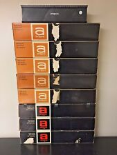 Vintage VTG Lot of 8 Argus 80 Slide Magazines and 1 60 35mm Kodachrome
