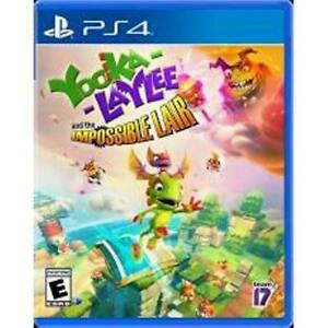 Yooka-Laylee: The Impossible Lair - PlayStation 4 PS4  (NEW & SEALED)