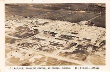Canada Postcard Real Photo RPPC Ontario c1950s ST THOMAS R.C.A.F. Training 31