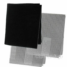 Cooker Hood Filters Kit for NEW WORLD Extractor Fan Vent Grease Carbon Filter