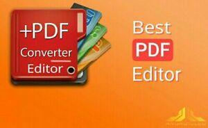 PDF Editor pro DOWNLOAD(create,edit,add image,remove image,erase)  PC ONLY