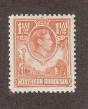 Northern Rhodesia 30 - King George Vi. Mh. Og. #02 Nrhod30m