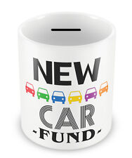 New CAR Fund Money Box  - Savings Piggy Bank Coin pot Gift Idea saver cool #84