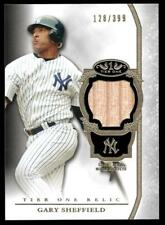 2013 TOPPS TIER ONE RELICS #GSH GARY SHEFFIELD  /399
