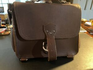 Saddleback Leather Small Satchel - Chestnut