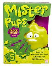 Mattel Mister Pups Geschicklichkeitsspiele Kinder Spielspaß Party Kartenspiel
