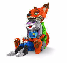 Anime Zootopia Fox Nick Rabbit Judy Nano block Building block toy 4500pcs/Lot