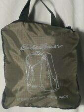 Eddie Bauer Packable Stowaway Ruck Pack Backpack Camo 20L
