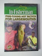 "In-Fisherman Fishin DVD Video BASS ""FINE TUNING HOT TACTICS FOR LARGEMOUTHS"""