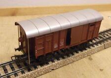 Märklin H0 312/1 Beautiful Swiss Goods Wagon with Brakeman's Cab