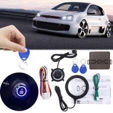 Car Engine Push Start Button Remote RFID Lock Ignition Starter Keyless Entry Kit