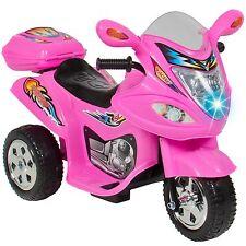Pink Three Wheeler Motorcycle Battery Ride On Car 6V Kids Girl Boy Toddler Toy