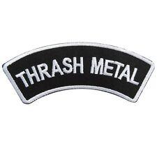 Thrash Heavy Metal Black Death Hardcore Logo Rock Band Punk Iron on Patches S223