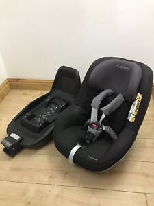 Maxi-Cosi i-Size 2way FamilyFix +2way Pearl Car Seat Next Stage Group 1 Carseat