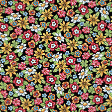 FABRIC Quilting Treasures ~ MARY'S FAIRIES ~ Mary Engelbreit (25893 J) 1/2 yard