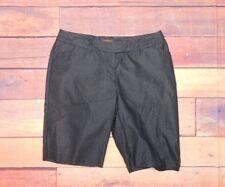 "Elle Women's Black Shorts Size 10 31"" Waist x 10.5"" Inseam 21.5"" Length"