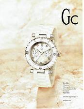 Publicité Advertising 108  2009   montre GC  Diver chic  9 diamants