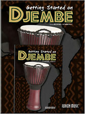 Getting Started on Djembe with Michael Wimberly Book & DVD *NEW* drumming method