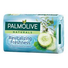 4 x Palmolive Naturals - Revitalizing Freshness - Green Tea & Cucumber Bar Soap