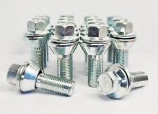 16 x M14 x 1.5, 48mm Thread, Wobble Vari Variable Tapered Wheel Bolts (Zinc)