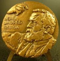 Medal to Jean Jaurès Socialist Politician Museum of Castrate Sc Revol Medal