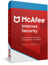 McAfee Internet Security 2019 Unlimited Devices for One Year