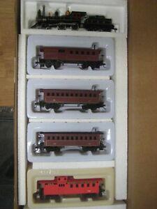 HO P.R.R. RAILROAD TRAIN SET 4-4-0 OLD TIME LOCO PENNSYLANIA  # RRP-318 PENNSY