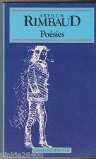 Rimbaud - Poésies ( Une saison en enfer- illuminations...) . poche . bon état.