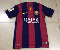 YOUTH Nike FCB Barcelona 2014 Sz S Small Jersey Shirt Soccer Football Messi Boys