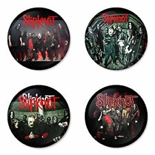 Slipknot , D - 4 chapas, pin, badge, button