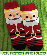 Santa Socks - Christmas Socks - Xmas Socks