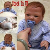 """20"""" Full Body Realistic Reborn Dolls Lifelike Baby Boy Newborn Doll Gifts"""