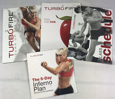 TurboFire Schedule Fuel the Fire, Turn Up The Burn Workout Guides + inferno Only