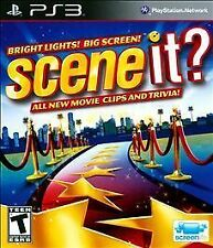 Scene It Bright Lights Big Screen RE-SEALED Sony PlayStation 3 PS PS3 GAME