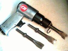 Campbell Hausfeld TL1003 Short Barrel Air Hammer Chisel w/ 3 chisels