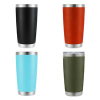 Coffee Travel Mug Hot Cold Drink Tea Cup Double Insulated Stainless Steel 20 oz