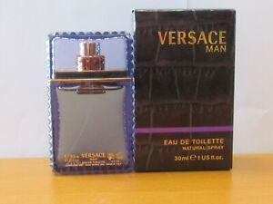 Vintage Versace Man Cologne Men 3.4 oz /100 ml Eau De Toilette Spray Sealed